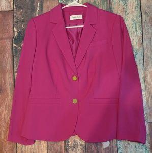 Calvin Klein 16WP pink blazer with gold buttons
